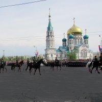 Казаки на параде :: раиса Орловская