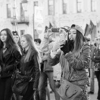 Санкт-Петербург в День Победы 2015 года :: Farid Almukhametov
