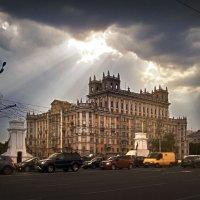 Москва Ленинградский проспект дом№1 :: Денис Масленников