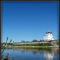 Рыбалка на р.Великой. Псков. :: Fededuard Винтанюк