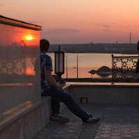 На закате :: Елена Жукова