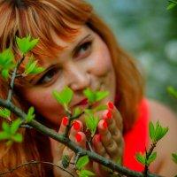 И моя весна теперь всегда будет со мной... :: Яна Минская