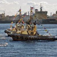 Фестиваль ледоколов в Санкт-Петербурге :: Ростислав Бычков