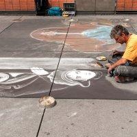 Уличный художник :: Виктор Льготин