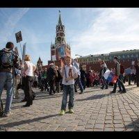 """""""Бессмертный полк"""" на Красной Площади :: Анна Уварова"""