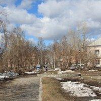 Весна в Новосибирске :: Олег Афанасьевич Сергеев