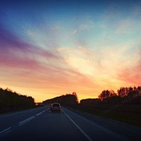 Дорога в закат :: Lady Etoile
