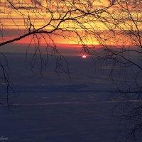 Рассвет на зимнем Байкале :: Svetlana Telnova