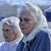 ВЕТЕРАНЫ - БЛОКАДНИЦЫ!  Как много они сделали, и как мало их осталось! 9 мая 2015 :: Виталий Половинко