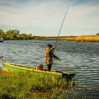 Рыбачка на Дейме :: Игорь Вишняков