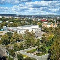 Над Уссурийском, пролетая... :: Виктор Никаноров