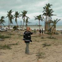 На флоридском пляже после урагана... :: Владимир Смольников