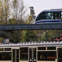 достижения городского транспорта:все выше и выше :: Олег Лукьянов