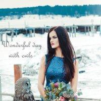 """Wonderful day with owls"" :: Alex Trush"