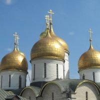 Купола Успенского собора. Кремль. :: Маера Урусова