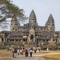 Храмовый комплекс Ангкорват Камбоджа :: Евгений Подложнюк