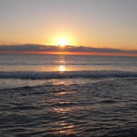Утренняя Атлантика во Флориде. :: Владимир Смольников