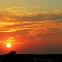 Вечернее небо с балкона :: Alexander Andronik