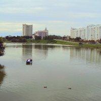 Сви́слочь река в Минске :: Tata Wolf
