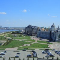 панорама со смотр. площадки Казанского Кремля :: Лидия кутузова