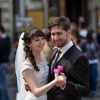Танец на площади Рынок Львов :: пан Шмулинсон