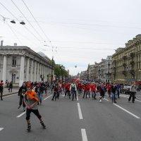На роликах по Петербургу :: tipchik