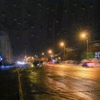Апрельский вечер. Холодно и сыро. :: Сергей Щелкунов