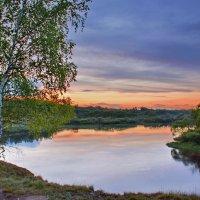 Вечер  на  реке... :: Валера39 Василевский.