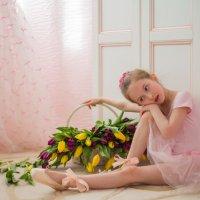 балерина в мыслях о Большом Театре :: Мария Корнилова
