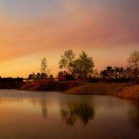 Озерки на закате :: Хась Сибирский