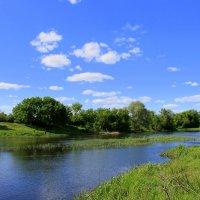 В реку смотрятся облака.. :: Валентина ツ ღ✿ღ