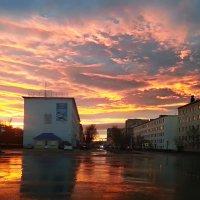 На закате :: Oleg Akulinushkin