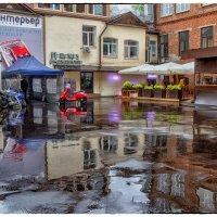 Street and rain :: OKCAHA Валова