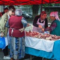споры на рынке :: Наталья Одинцова