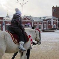 Девочка на лошади :: Canon PowerShot SX510 HS