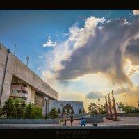 Биробиджан. Театральная площадь. Май 2012 :: Евгений Карпов