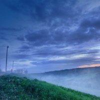 Вечером туман лег :: Юлия Холодкова