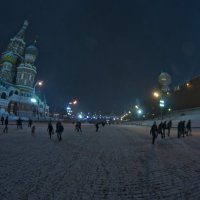 Fish-eye Moscow :: Михаил Стулов