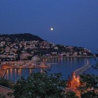Вечер над Ниццей :: Евгений Печенин