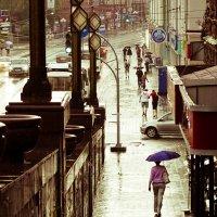 Теплый дождь :: Наташа Барова