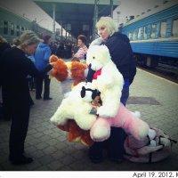 На станции :: Ксения Сытина