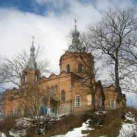 Храм святителя Николая Чудотворца (1899).Март. :: Александр Герасенков