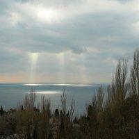 Я вижу с неба несказанный свет.. :: Александр Герасенков