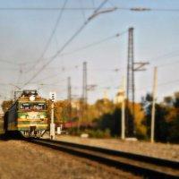 Поезд :: Вадим Михеев