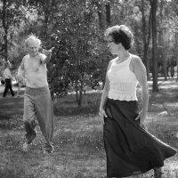 Танец в парке :: Василий Василец