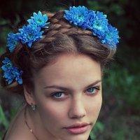 Синие цветы :: Эрик Нейман