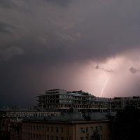 Молния в Москве :: Ирина Пол