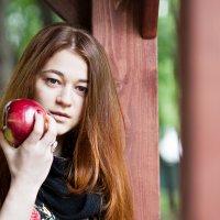 Яблочная фотосессия :: Катерина Родионова