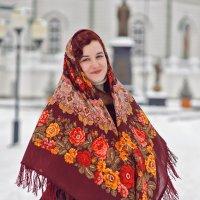 Цветущие россыпи павлопосадских платков... :: Самир Аббасов