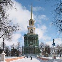 Реставрируемая колокольня Рязанского кремля :: Максим Красиков